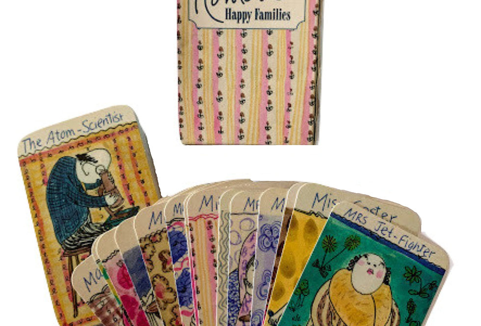 Romola's Happy Family Playing cards