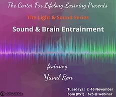 Webinar: Light & Sound Series Brain Entrainement