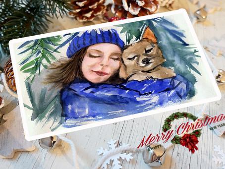 Christmas cards (Новогодние открытки)