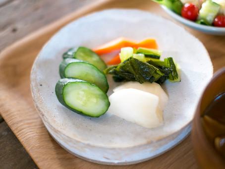 飛騨地方の伝統料理「漬物ステーキ」