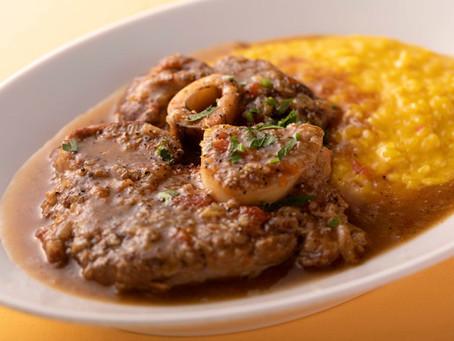 インパクトのある料理「オッソブーコ」
