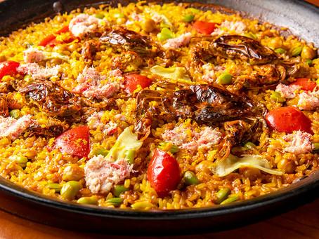 スペインの伝統的なお米料理「パエリア」