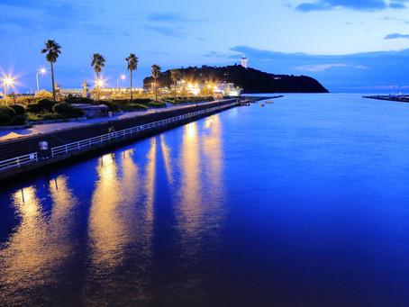 夏の風物詩「江の島灯篭」