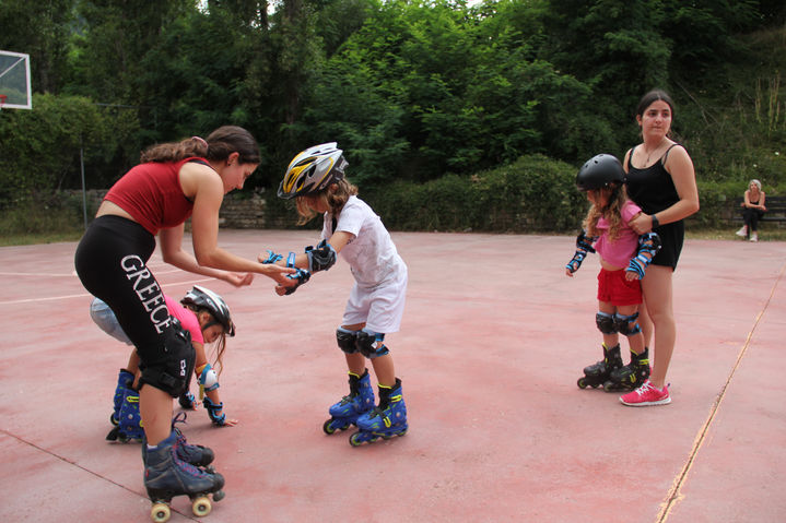 Inline skating classes