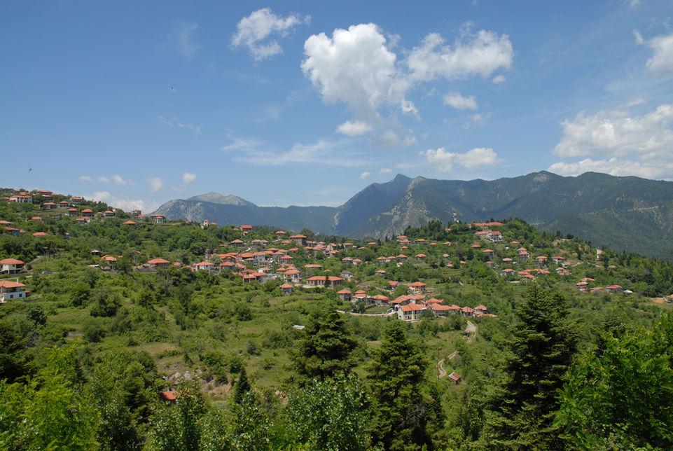 Πανοραμική θέα του χωριού