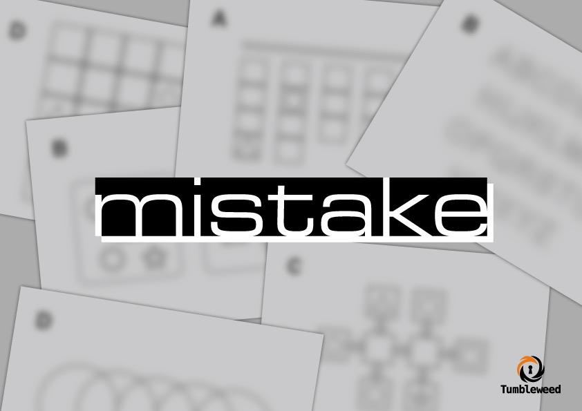 『mistake』