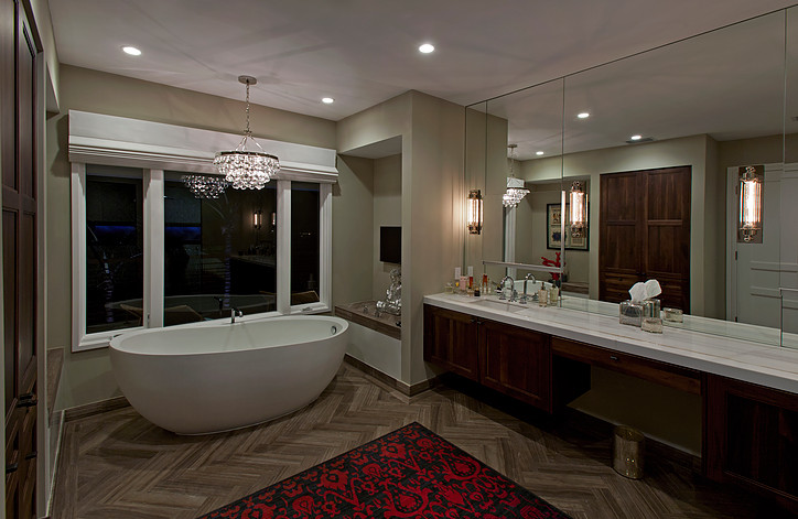 Luxury Bathroom Spa Interior Design