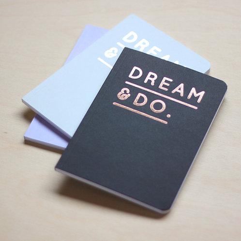 Dream&Do Notizheft DIN A6 von Navucko