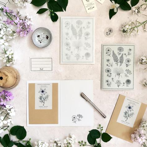 JoraDahl-Samen-Grußkarte-Dietagträumerei