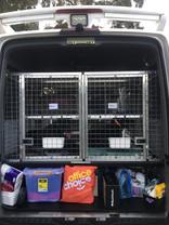 Pet Transport Van Rear View
