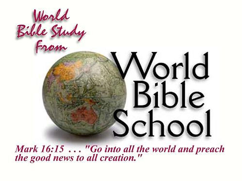 World Bible School Chart