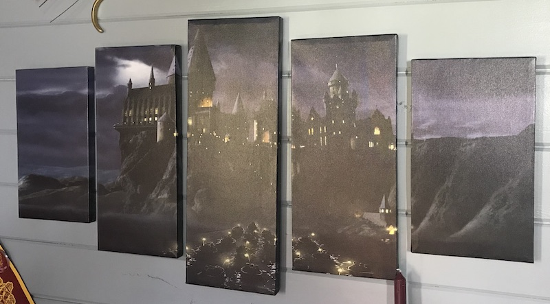 Hogwarts Castle 5-panel canvas