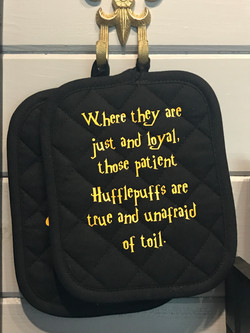 Hufflepuff Pot holders