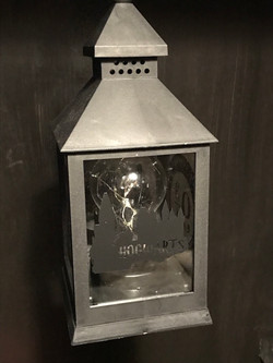 Hogwarts Lantern in Cupboard
