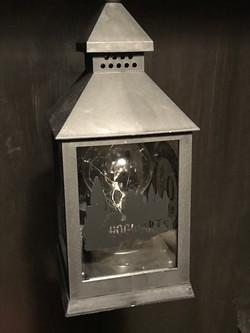 Hogwarts Lantern in Cupboard