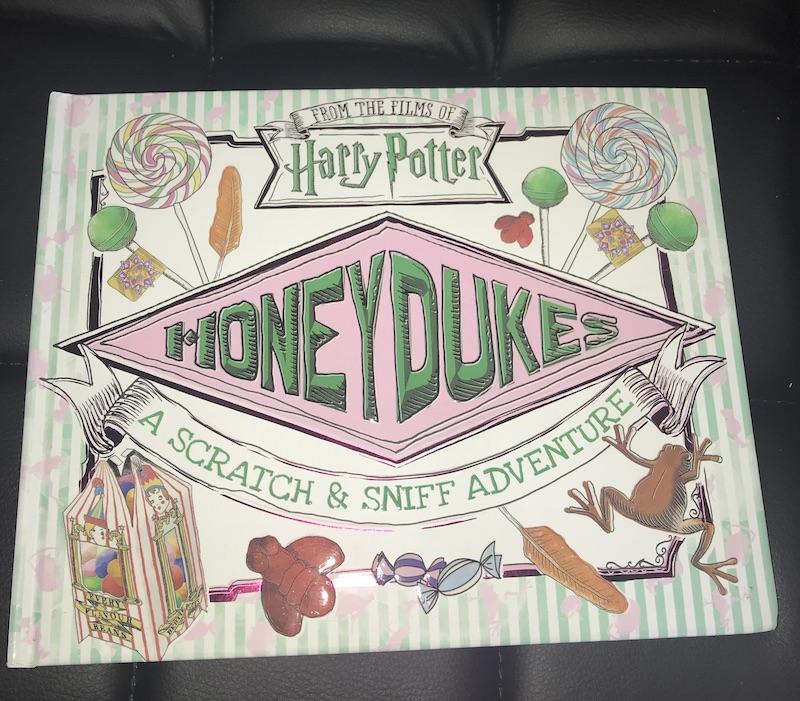 Honeydukes Scratch-n-Sniff Book