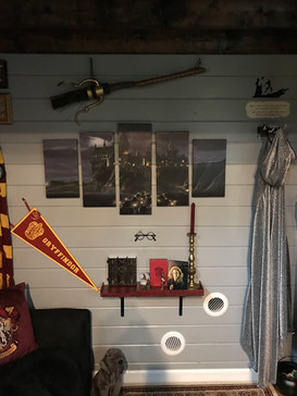 Gryffindor Common Room Wall