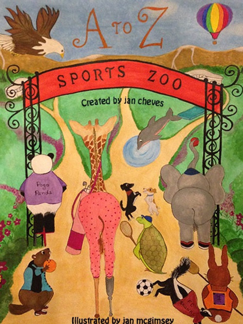 The Sports Zoo Children's Book