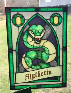 Slytherin Crest Window Cling