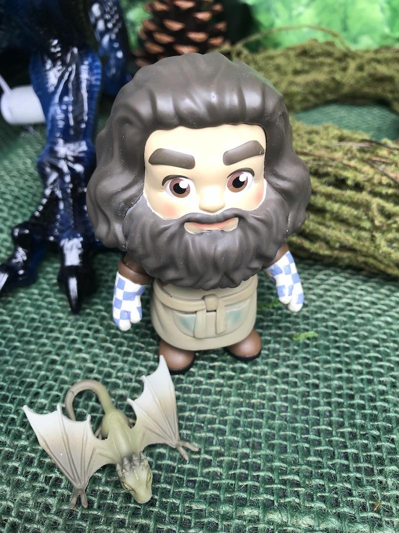 Hagrid delivering baby Dragons.