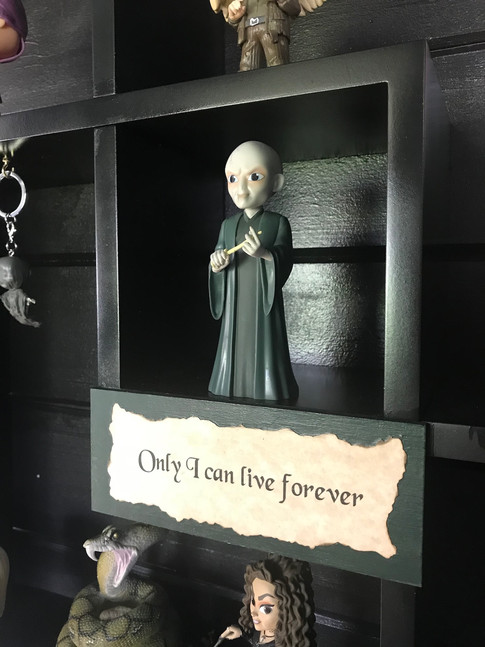 Only I can live forever.