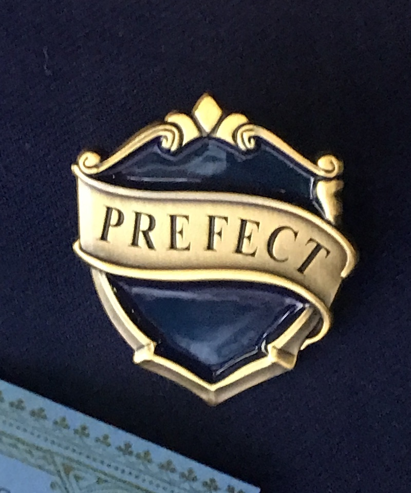 Ravenclaw prefect badge