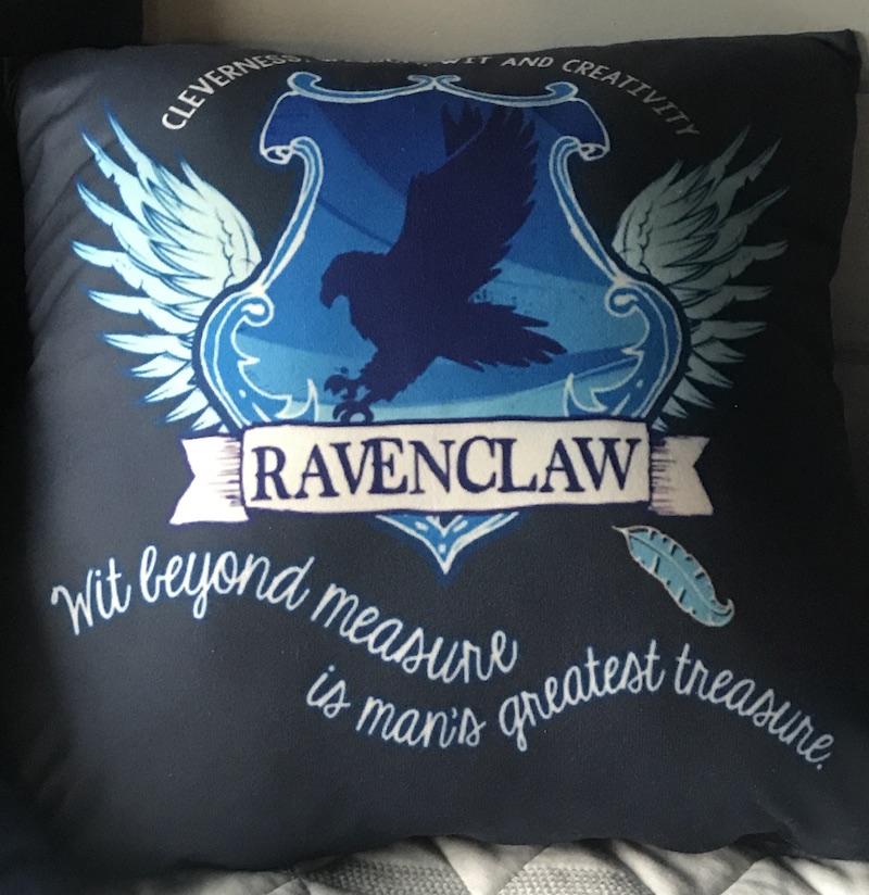 Ravenclaw pillow 1