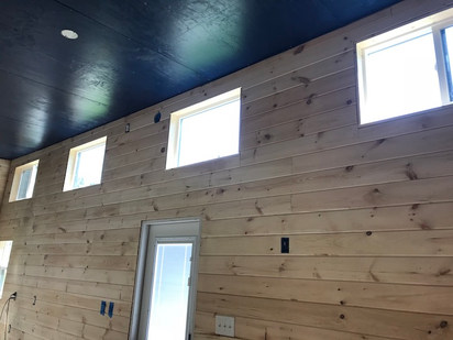 Finished wall boards