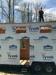 Ready for roof sheathing