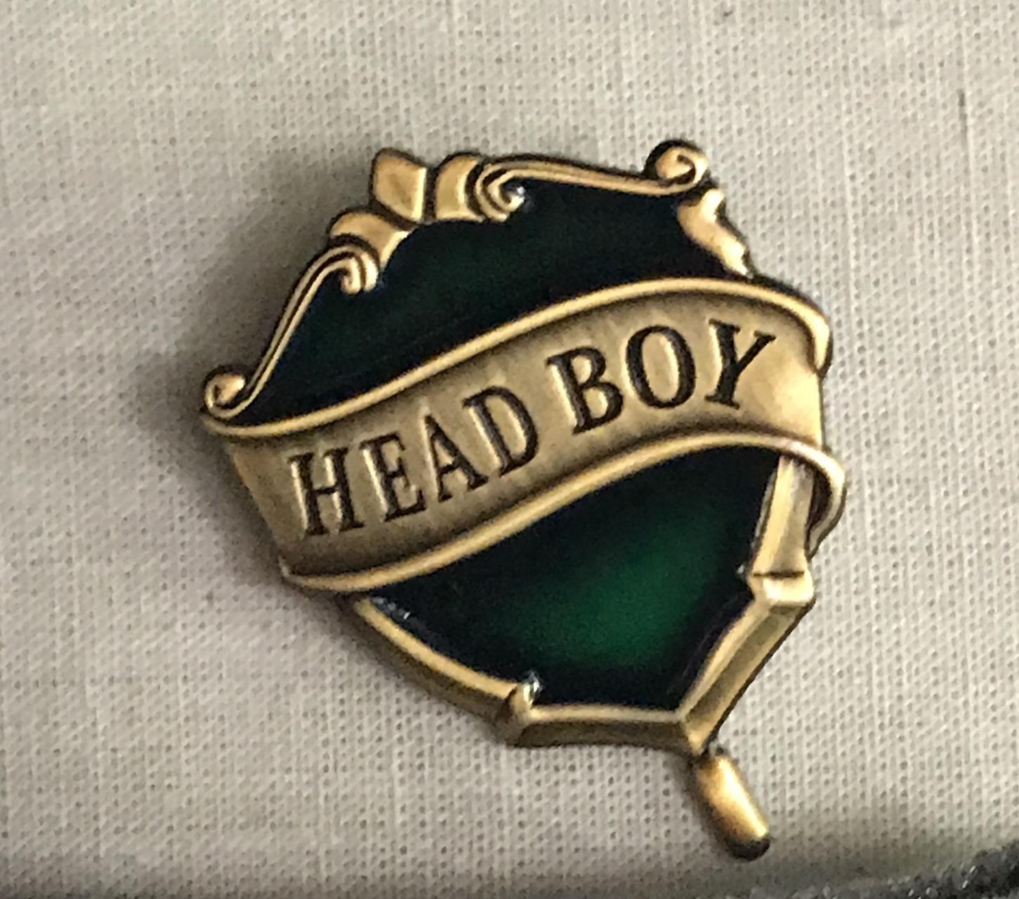 Slytherin Head Boy Badge