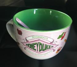 Honeydukes bowl and spoon