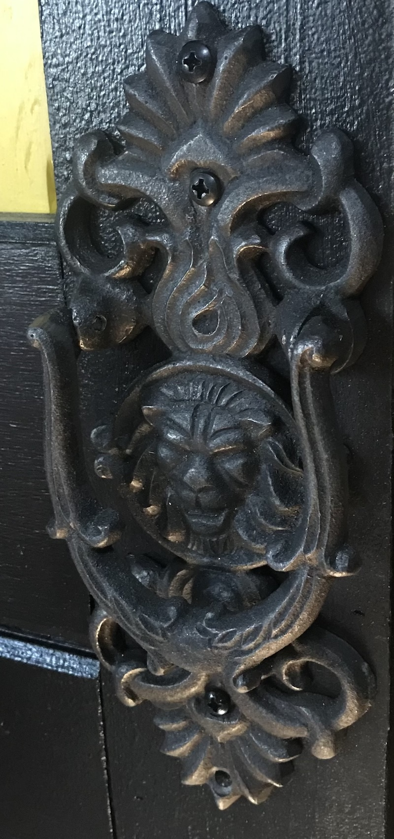 Lion Door Knocker copy