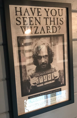 Slytherin Sirius Black Wanted Poster