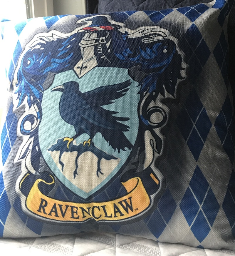 Ravenclaw pillow 3