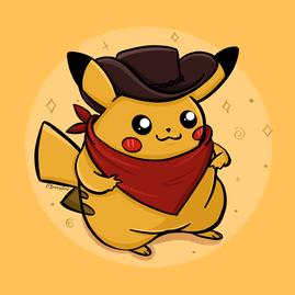Cowboy Pikachu