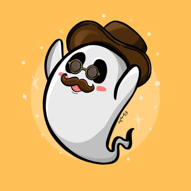 Spooky Shep Branding