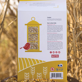 Eco Friendly Bird Seed Packaging: Back