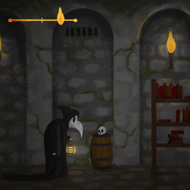 Lester's Lantern: iPad Game Design, Play Screen