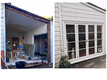 French Doors addition