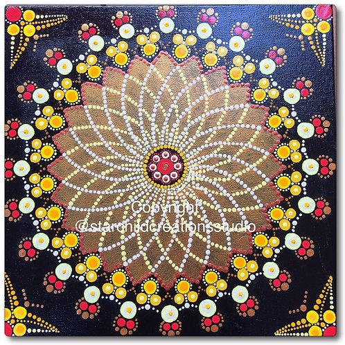 Rising Sun Mandala