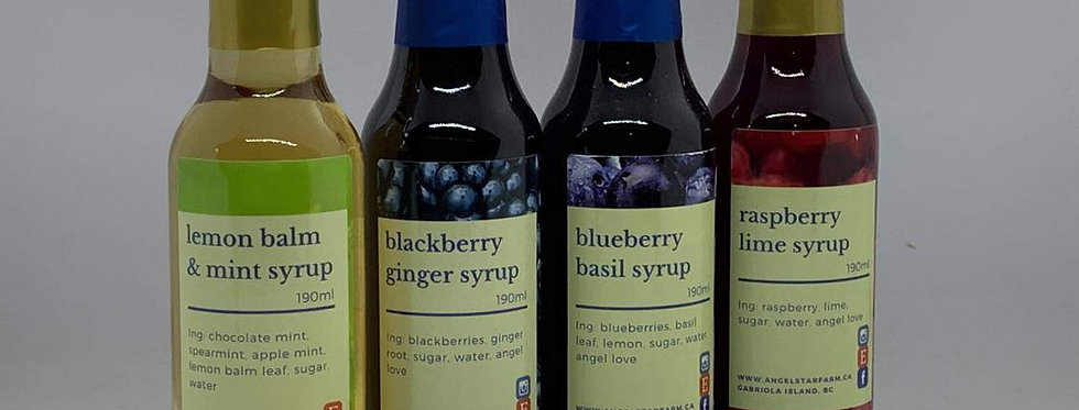 Herb & Fruit Syrups - 3 Gift Pack