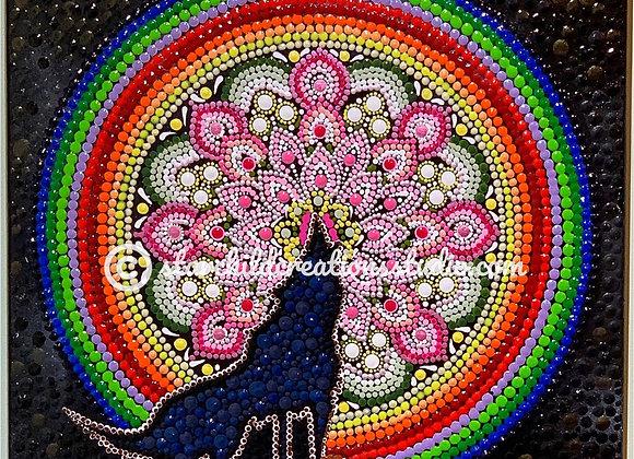 Wolf Moon Mandala