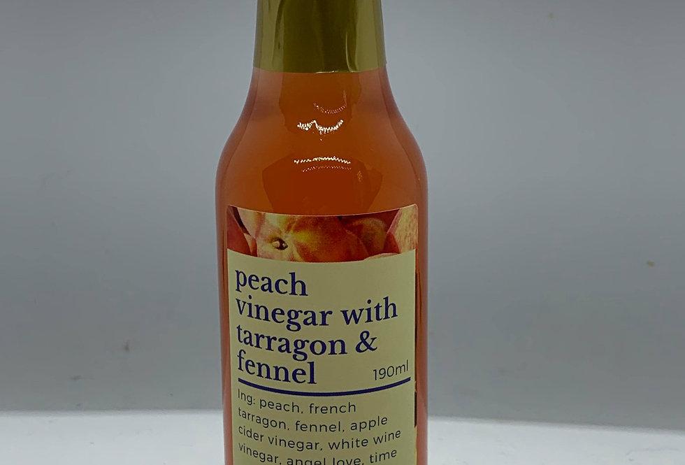 Peach Tarragon Vinegar