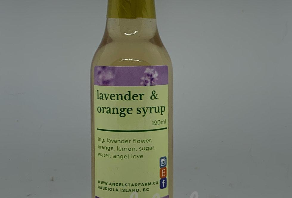 Lavender & Orange Syrup