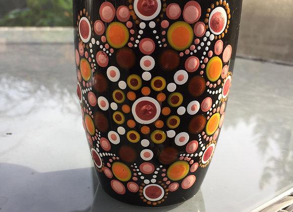 Orange Medley Mandala Mug