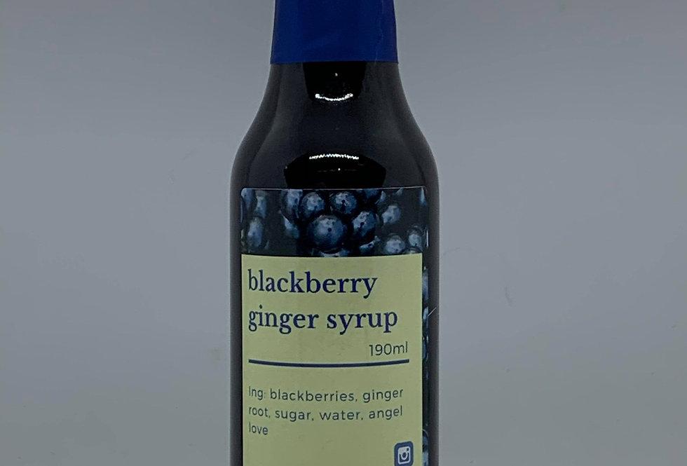 Blackberry Ginger Syrup
