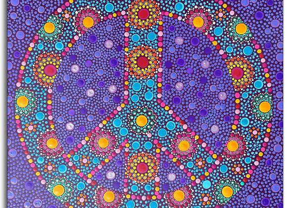 Psychedelic Love Mandala