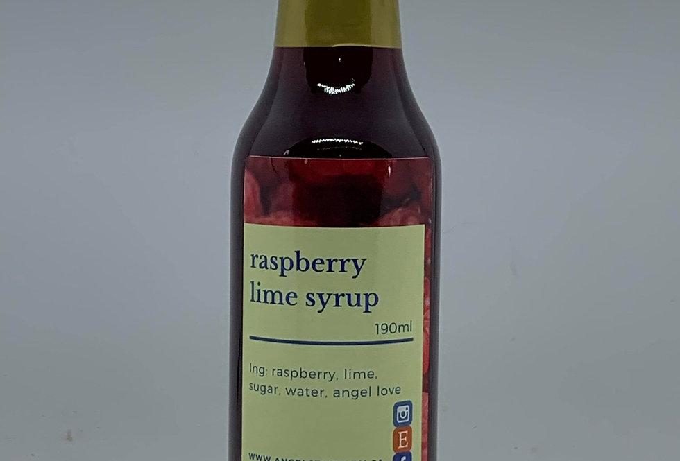 Raspberry Lime Syrup