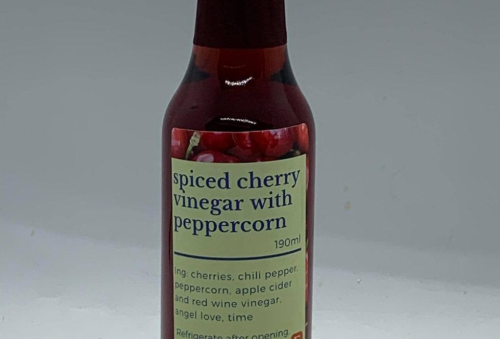 Spiced Cherry Vinegar