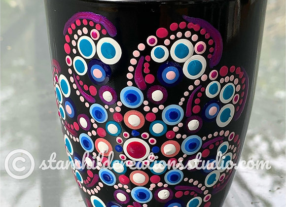 Lavender Rose Mandala Mug